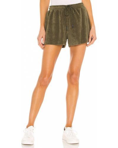 Шорты с карманами - зеленые Pam & Gela