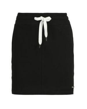 Czarna spódnica ołówkowa bawełniana Dkny