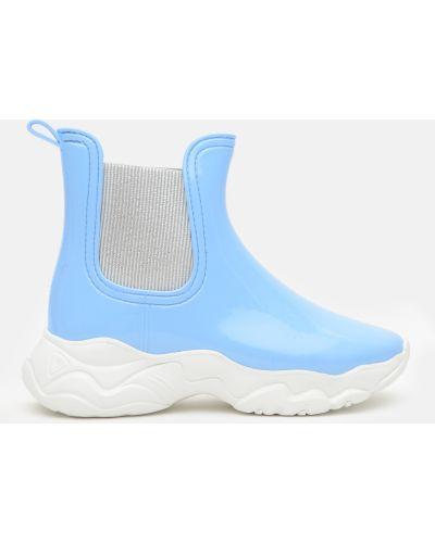 Легкие резиновые сапоги - голубые Realpaks