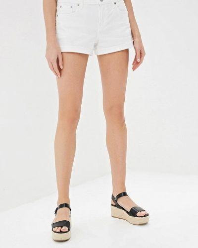 Джинсовые шорты белые Gap
