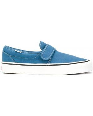 Slipony dżinsowa niebieski Vans