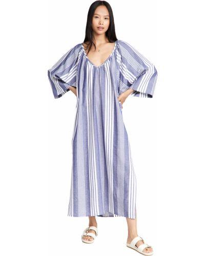 Sukienka długa bawełniana Mara Hoffman