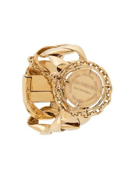 Браслет золотой с подвесками позолоченный Louis Vuitton