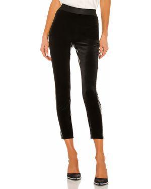Czarne spodnie skorzane peep toe Bailey 44