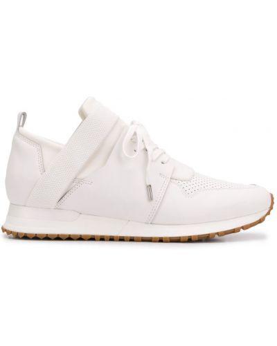 Кроссовки белый на шнуровке Mallet Footwear