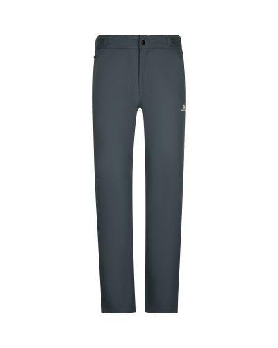 Серые утепленные спортивные брюки для бега Nordway