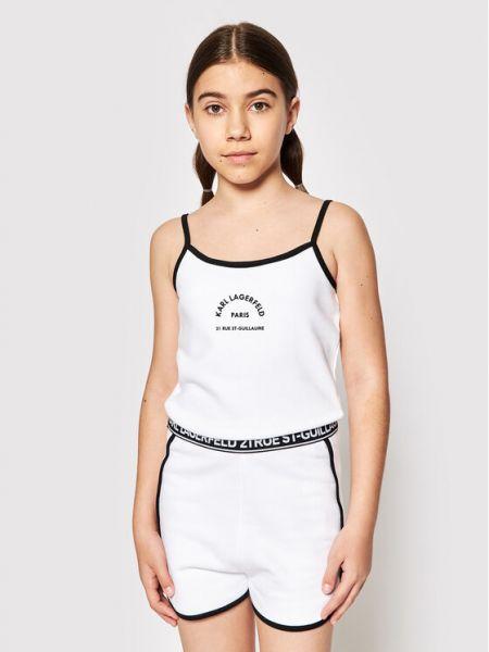 Kombinezon - biały Karl Lagerfeld