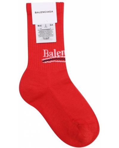 Носки мягкие с логотипом Balenciaga
