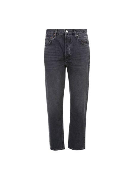 Mom jeans - czarne Agolde