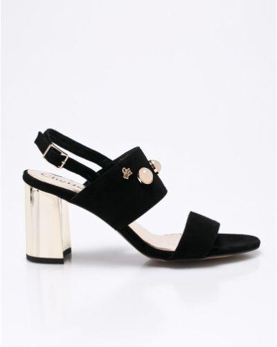 Кожаные туфли на каблуке Chebello
