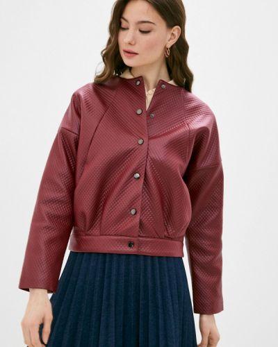 Кожаная куртка - красная Vittoria Vicci
