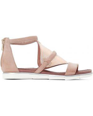 Розовые сандалии на каблуке Mjus