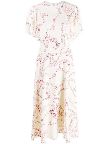 Платье миди футляр деловое Victoria Beckham