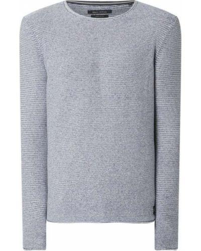 Niebieski sweter bawełniany Marc O'polo
