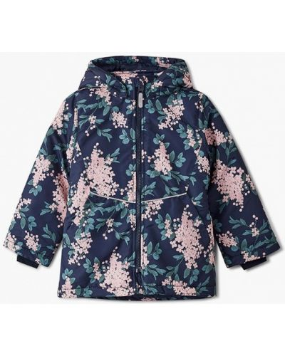 Синяя теплая куртка Name It