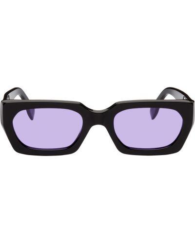 Złote okulary - czarne Retrosuperfuture