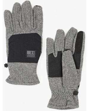 Черные перчатки Under Armour