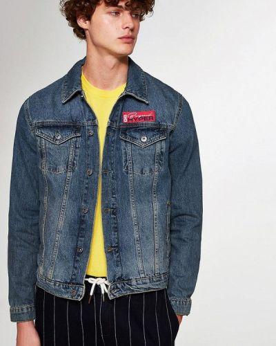 Джинсовая куртка осенняя Topman