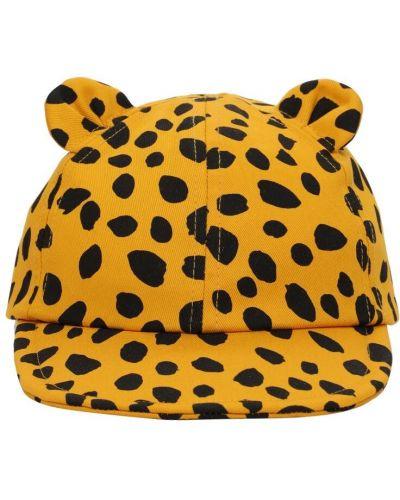 Bawełna bawełna kapelusz z aplikacjami Stella Mccartney Kids