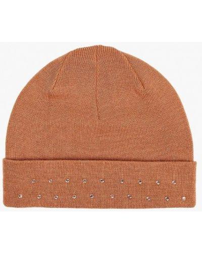 Оранжевая шапка осенняя Check Ya Head