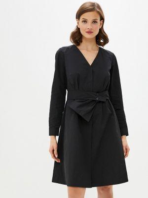 Прямое платье - черное Sa.l.ko