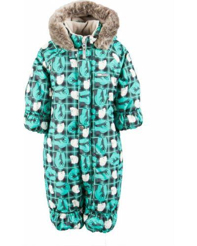 Зимний комбинезон зеленый финский Kerry