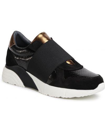 Czarny sneakersy Quazi