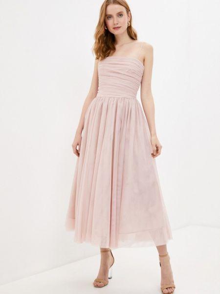Вечернее платье розовое весеннее Befree