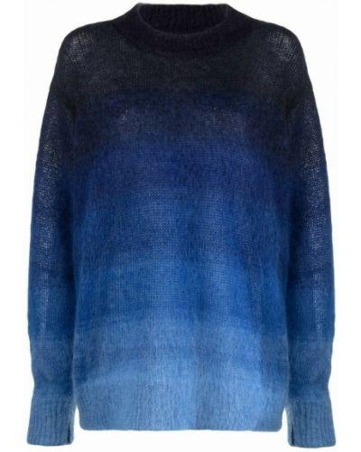 Pulower - niebieski Isabel Marant Etoile