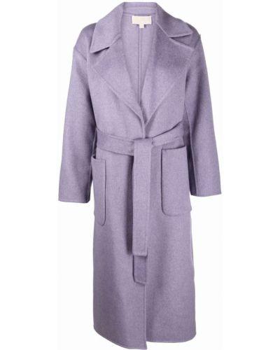 Фиолетовое пальто из полиэстера Michael Michael Kors