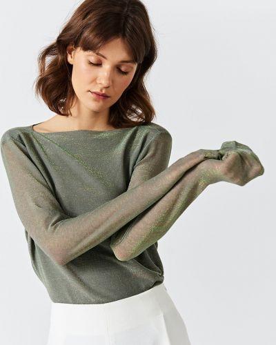 Блузка однотонная из вискозы Simple