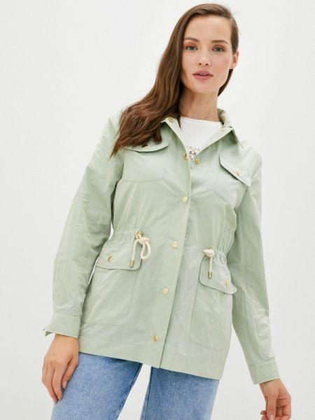 Зеленая облегченная куртка Laroom