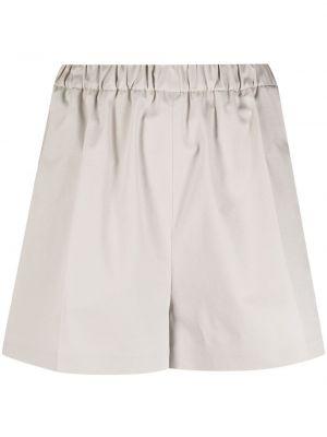 Серые хлопковые шорты с карманами Magda Butrym