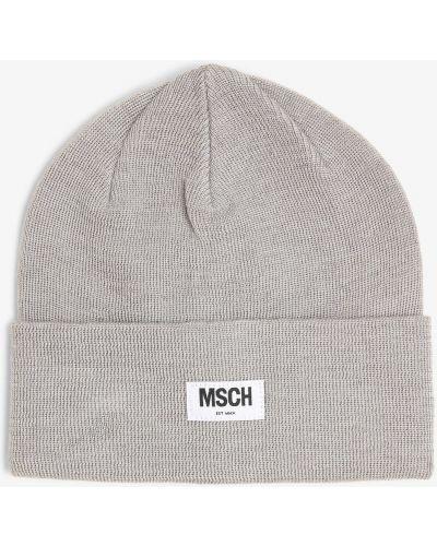 Szara czapka Moss Copenhagen