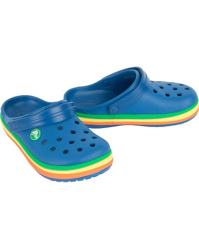 Сабо летний синий Crocs