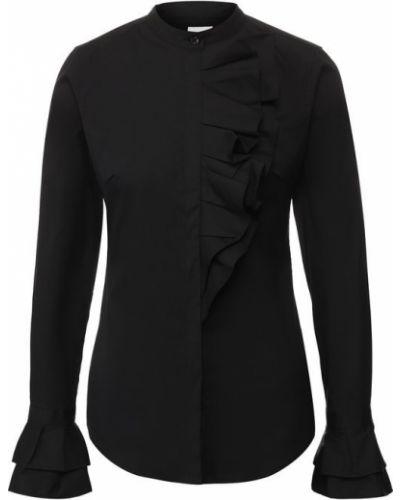 Блузка с рюшами хлопковая Sara Roka
