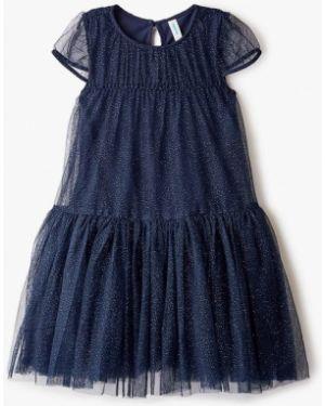 Синее платье на торжество Acoola