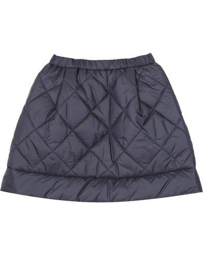 Pikowana ciemnoniebieski spódnica Il Gufo