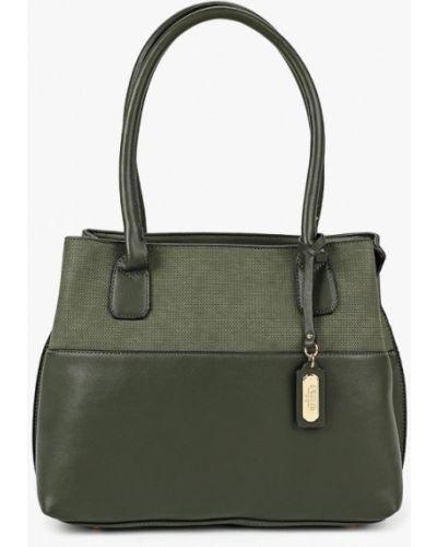Кожаный сумка с ручками из нубука Fabretti