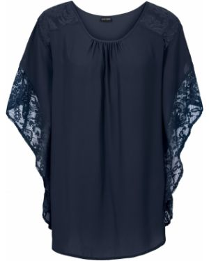 Блузка с коротким рукавом боди летучая мышь Bonprix