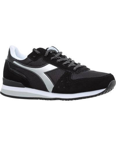 Кроссовки для бега черные винтажные Diadora
