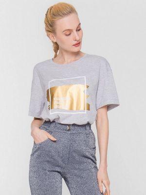 Серая футболка с короткими рукавами Lo