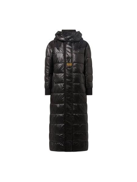 Czarny płaszcz z kapturem G-star Raw