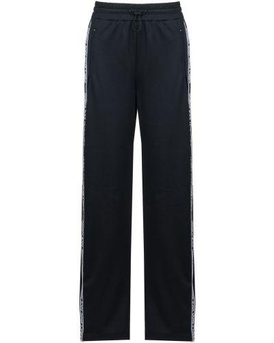 Свободные брюки с лампасами с карманами Red Valentino