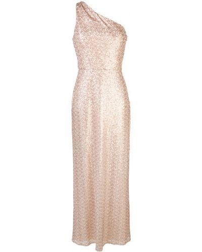 Платье на одно плечо приталенное Amsale