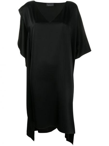 Sukienka mini przeoczenie z jedwabiu Gianluca Capannolo