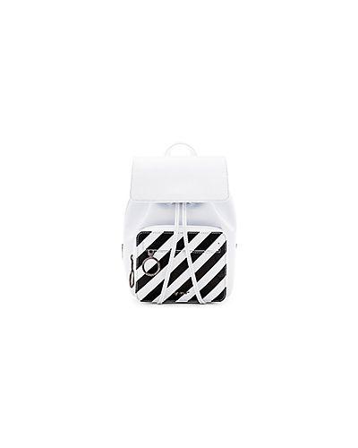 Кожаный сумка сумка-рюкзак на молнии Off-white