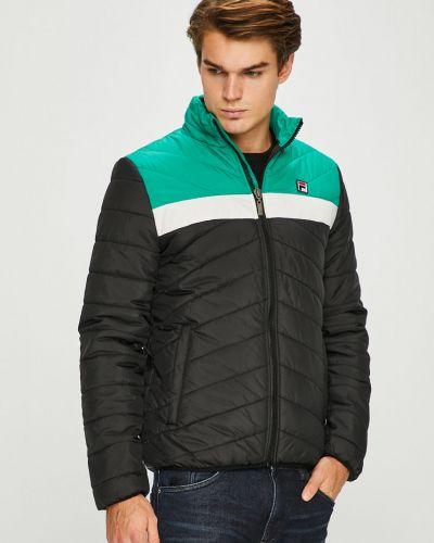 Утепленная куртка стеганая укороченная Fila