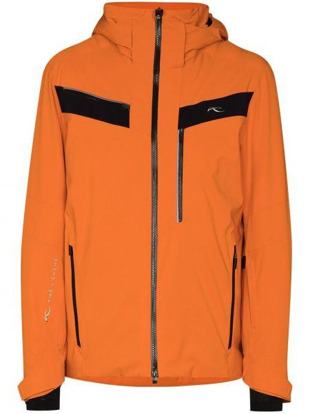 Куртка с капюшоном - оранжевая Kjus