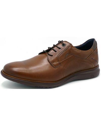 Туфли из верблюжьей шерсти - коричневые Fluchos